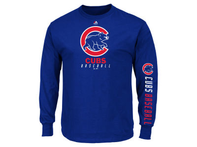 Chicago Cubs MLB Men's Game Supreme Long Sleeve T-Shirt