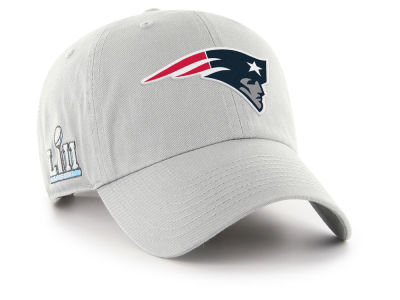 af4045dae54 New England Patriots  47 NFL Super Bowl LII Team  47 CLEAN UP Cap