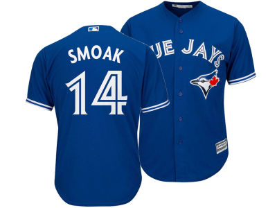 Toronto Blue Jays Justin Smoak Majestic MLB Men's Player Replica Cool Base Jersey