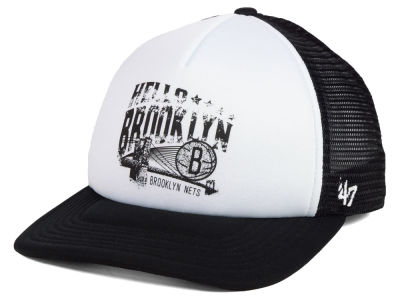 Brooklyn Nets '47 NBA Region Mesh MVP Cap