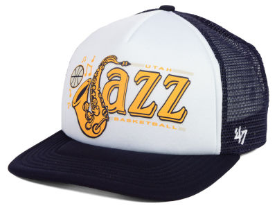 Utah Jazz '47 NBA Region Mesh MVP Cap
