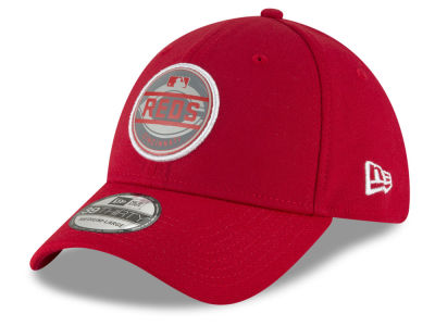 Cincinnati Reds New Era MLB Circle Reflect 39THIRTY Cap