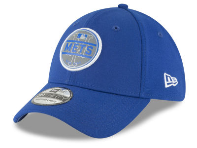 New York Mets New Era MLB Circle Reflect 39THIRTY Cap