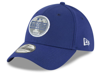 Texas Rangers New Era MLB Circle Reflect 39THIRTY Cap