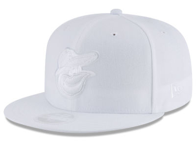 Baltimore Orioles New Era MLB All White Collection 59FIFTY Cap