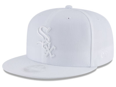 Chicago White Sox New Era MLB All White Collection 59FIFTY Cap