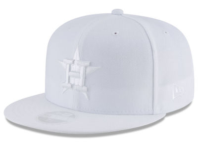 Houston Astros New Era MLB All White Collection 59FIFTY Cap