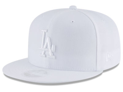 a27aa1bdc0d Los Angeles Dodgers New Era MLB All White Collection 59FIFTY Cap