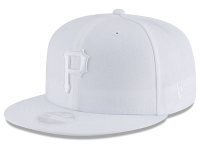 Pittsburgh Pirates New Era MLB All White Collection 59FIFTY Cap