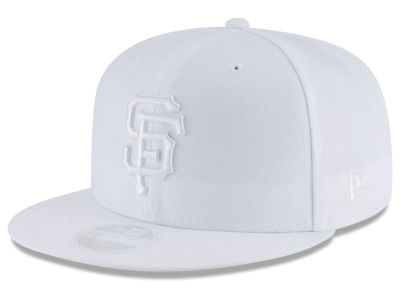San Francisco Giants New Era MLB All White Collection 59FIFTY Cap
