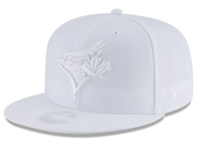 Toronto Blue Jays New Era MLB All White Collection 59FIFTY Cap