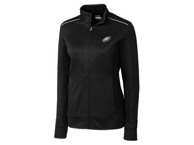 Philadelphia Eagles Cutter & Buck NFL Women's WeatherTec Ridge Full Zip Jacket