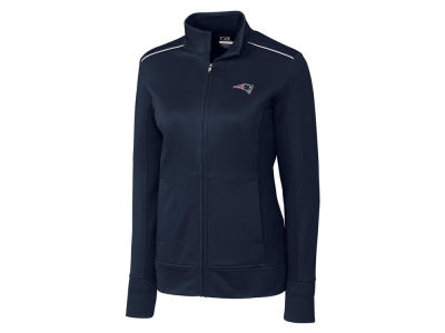 New England Patriots Cutter & Buck NFL Women's WeatherTec Ridge Full Zip Jacket