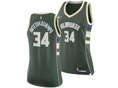 Milwaukee Bucks Giannis Antetokounmpo Nike NBA Women's Swingman Jersey
