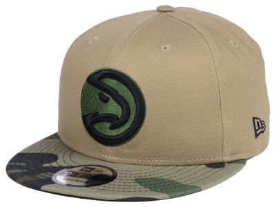 Atlanta Hawks New Era NBA Camo Tipping 9FIFTY Snapback Cap