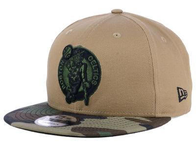 Boston Celtics New Era NBA Camo Tipping 9FIFTY Snapback Cap