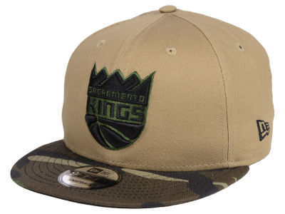 NBA Camo inclinant le chapeau de 9FIFTY Snapback