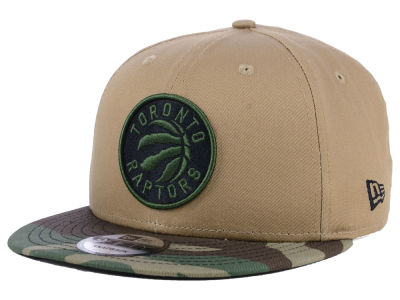 Toronto Raptors New Era NBA Camo Tipping 9FIFTY Snapback Cap