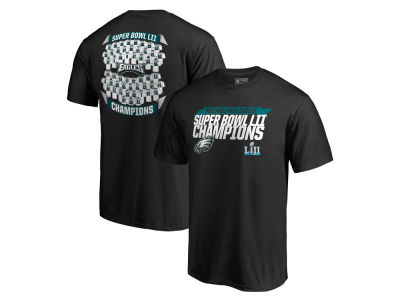 Philadelphia Eagles NFL Men's Super Bowl LII Champ Lateral Roster T-shirt