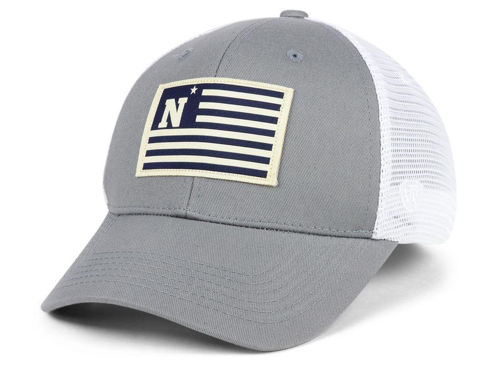... best price navy midshipmen top of the world ncaa brave trucker cap  085a4 0ce68 2a685095b058