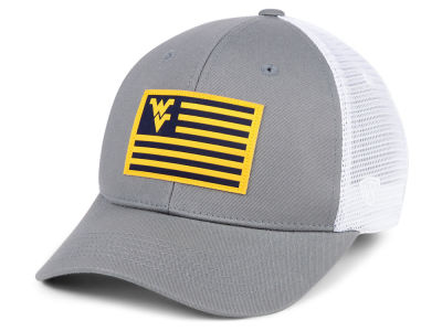 West Virginia Mountaineers Top of the World NCAA Brave Trucker Cap