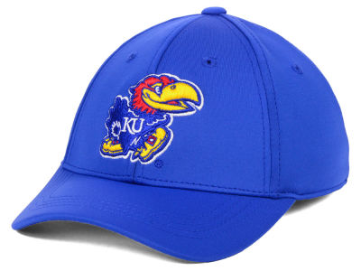 Kansas Jayhawks Top of the World NCAA Youth Phenom Flex Cap