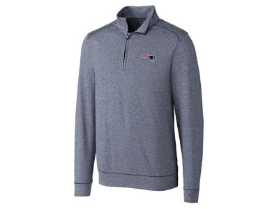 New England Patriots Cutter & Buck NFL Men's Shoreline Half Zip Jacket
