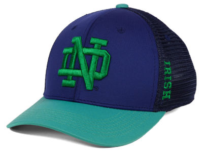 promo code 1a3bd c9a96 Notre Dame Fighting Irish Top of the World NCAA Chatter Stretch Cap