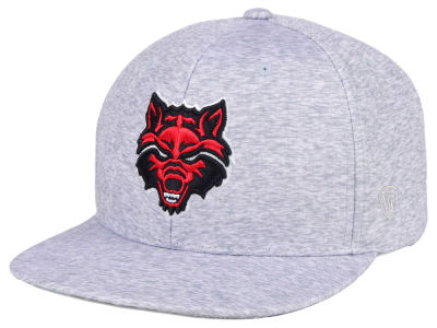Arkansas State Red Wolves Top of the World NCAA Solar Snapback Cap