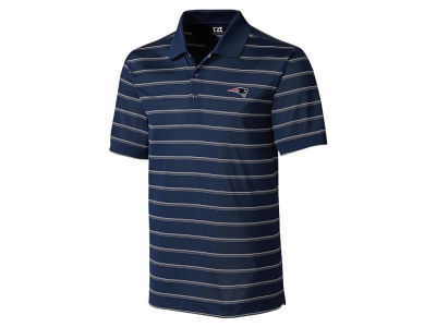 New England Patriots Cutter & Buck NFL Men's Venture Stripe Polo