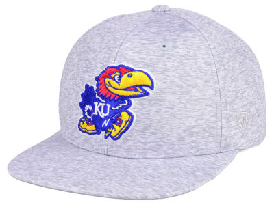 bb1ca8e61e9 Kansas Jayhawks NCAA Top of the World Snapback Hats   Caps