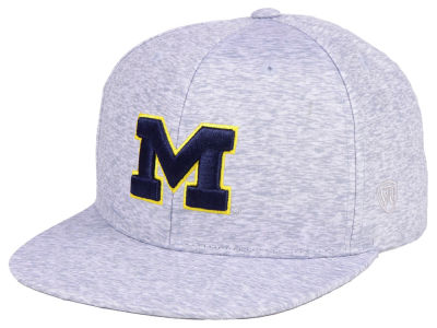 Michigan Wolverines Top of the World NCAA Solar Snapback Cap