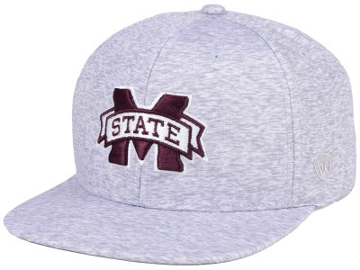 Mississippi State Bulldogs Top of the World NCAA Solar Snapback Cap