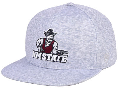 New Mexico State Aggies Top of the World NCAA Solar Snapback Cap