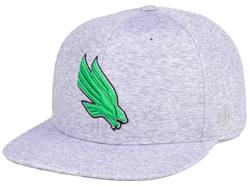 online store 0c345 ca97c ... real north texas mean green top of the world ncaa solar snapback cap  lids 743af be7df