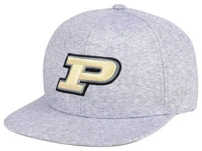 Purdue Boilermakers Top of the World NCAA Solar Snapback Cap