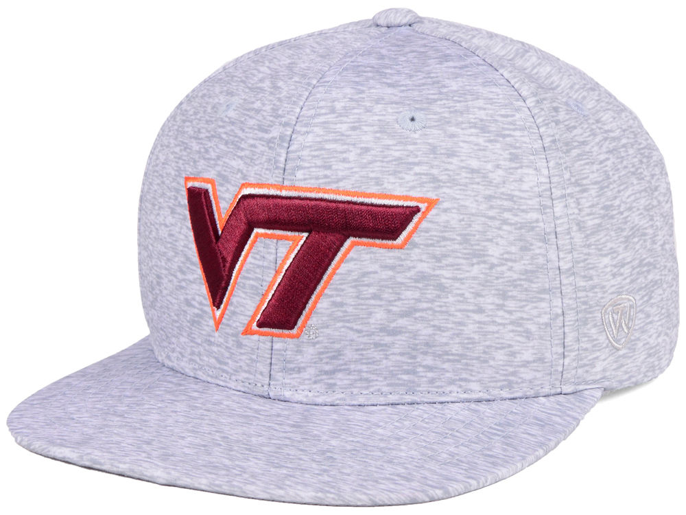 wholesale dealer 2572a 8f1dd ... promo code for virginia tech hokies top of the world ncaa solar snapback  cap cf845 39abf