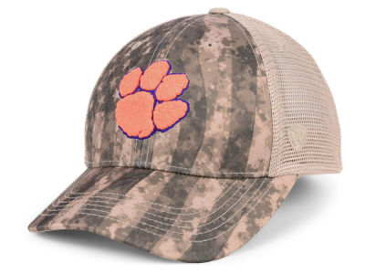 Clemson Tigers Top of the World NCAA Camo Nation Cap
