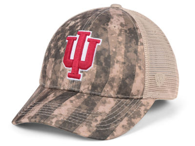 Indiana Hoosiers Top of the World NCAA Camo Nation Cap