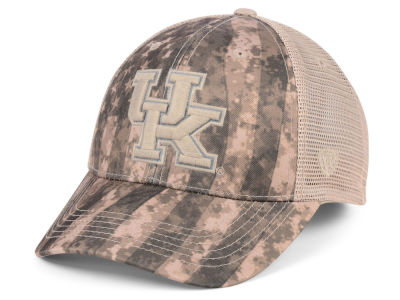 Kentucky Wildcats Top of the World NCAA Camo Nation Cap