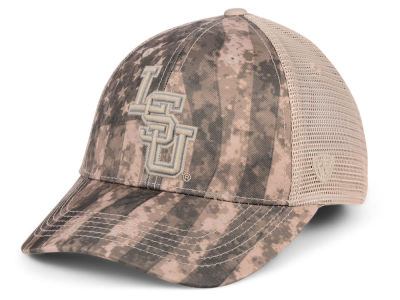 LSU Tigers Top of the World NCAA Camo Nation Cap