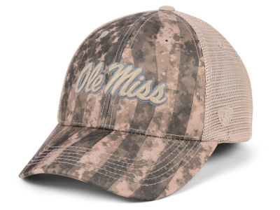 Ole Miss Rebels Top of the World NCAA Camo Nation Cap