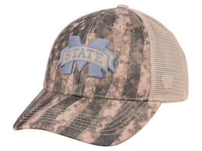 Mississippi State Bulldogs Top of the World NCAA Camo Nation Cap