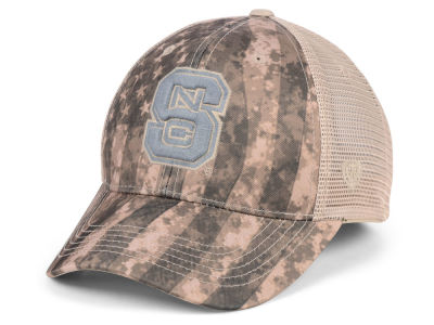 North Carolina State Wolfpack Top of the World NCAA Camo Nation Cap