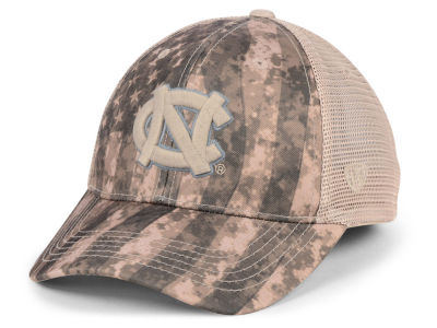North Carolina Tar Heels Top of the World NCAA Camo Nation Cap