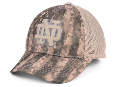 Notre Dame Fighting Irish Top of the World NCAA Camo Nation Cap