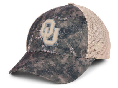 Oklahoma Sooners Top of the World NCAA Camo Nation Cap