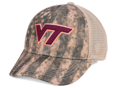 Virginia Tech Hokies Top of the World NCAA Camo Nation Cap
