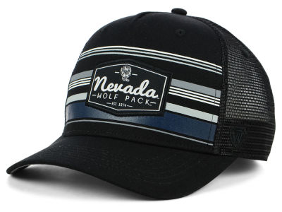 Nevada Wolf Pack Top of the World NCAA Top Route Trucker Cap