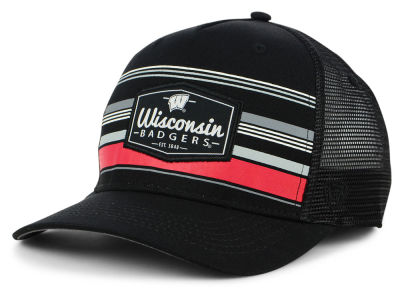 Wisconsin Badgers Top of the World NCAA Top Route Trucker Cap